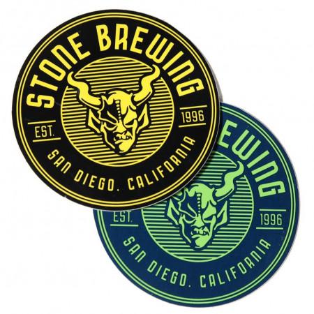 Stone Brewing Co. Round Criterion Sticker
