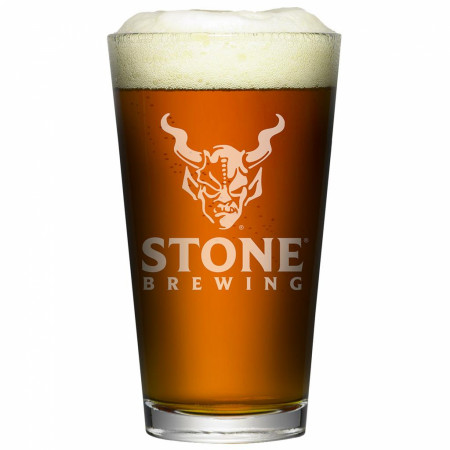 Stone Brewing Co. Authentic Pint Glass