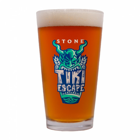 Stone Brewery Tiki Escape Pint Glass