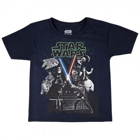 Star Wars A New Hope Glow in the Dark Youth T-Shirt