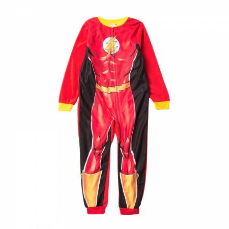 Flash Costume Kids Union Suit
