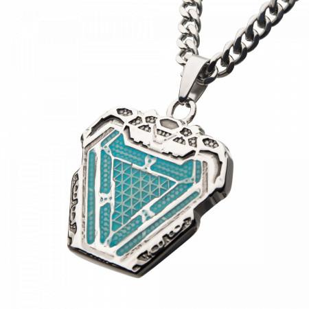 Iron Man Arc Reactor Steel Necklace