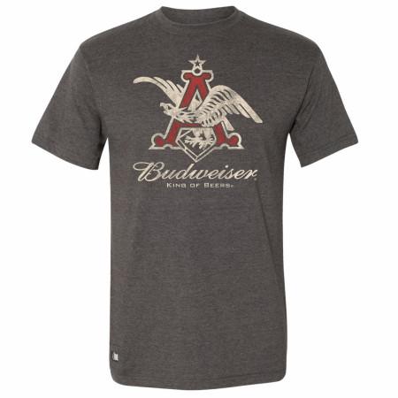 Budweiser Anheuser Busch Eagle Logo Pop Top T-Shirt