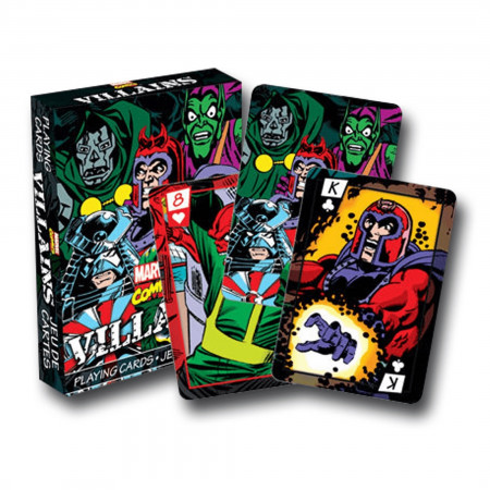 Marvel Comics Villains Playing Cards