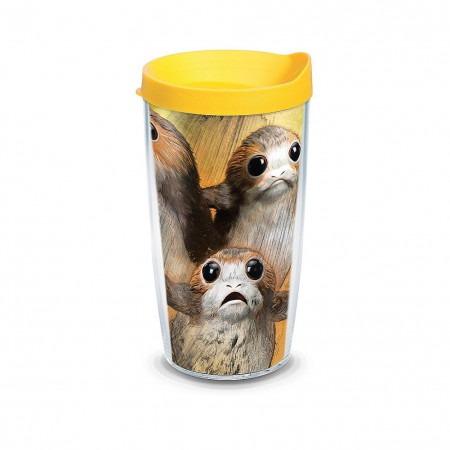 Tervis Star Wars Porgs 16 Ounce Tumbler With Lid
