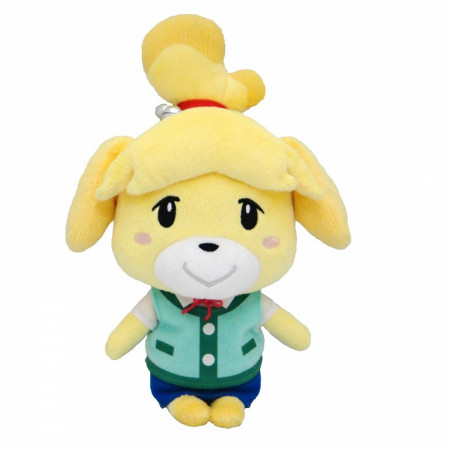 "Animal Crossing Smiling Isabelle 6"" Plush"