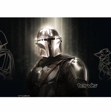 Star Wars The Mandalorian Chrome 20 Ounce Stainless Steel Travel Mug