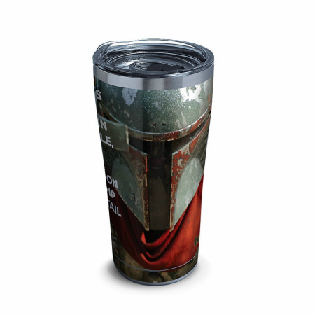 Star Wars Mandalorian Chapter Nine 20oz Stainless Steel Travel Mug