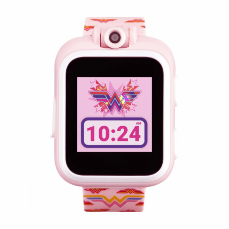 Wonder Woman Classics Symbol All Over Kids Smart Watch by Playzoom