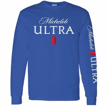 Michelob Ultra Sleeve Print Long Sleeve Shirt