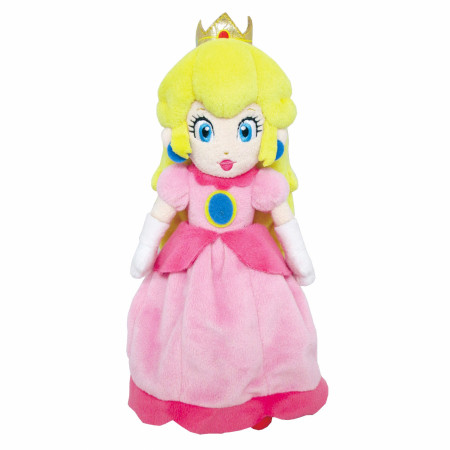 Super Mario Brothers Princess Peach 10 Inch Plush Doll