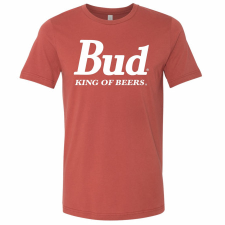 Budweiser King of Beers Classic Logo T-Shirt