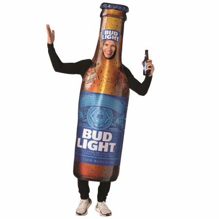 Bud Light Bottle Tunic Costume