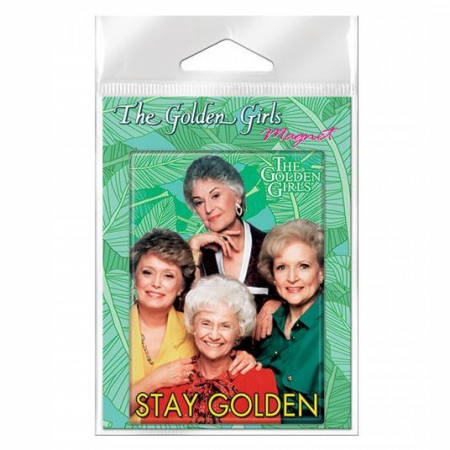 Golden Girls Stay Golden Carded Magnet