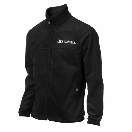 Jack Daniel's Zip Up Embroidered Fleece