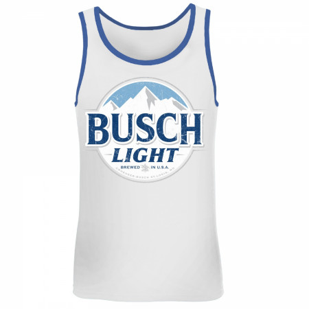 Busch Light Blue Trim Tank Top