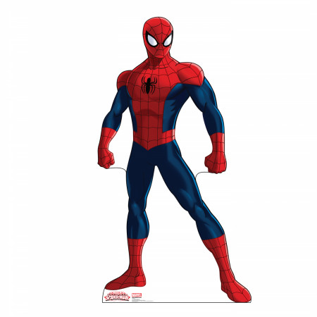 Ultimate Spider-Man Cardboard Stand up