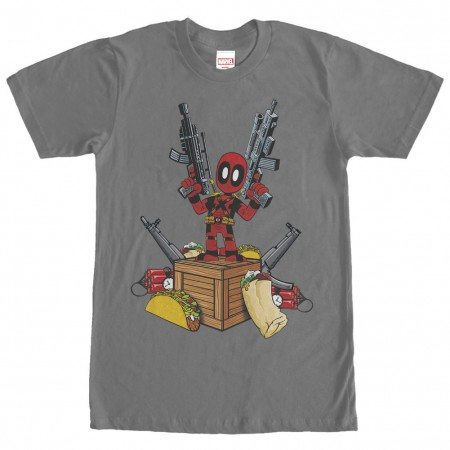 Deadpool Fundamentals Gray T-Shirt