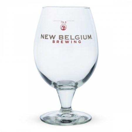 New Belgium Brewing Co. 16oz. Belgian Beer Glass 2-Pack