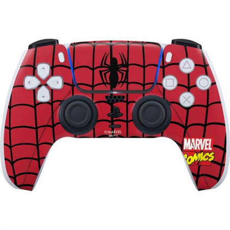 Marvel Comics Spider-Man Chest Logo PS5 Controller Skin
