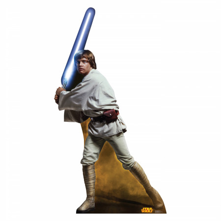 Star Wars Luke Skywalker Cardboard Stand Up