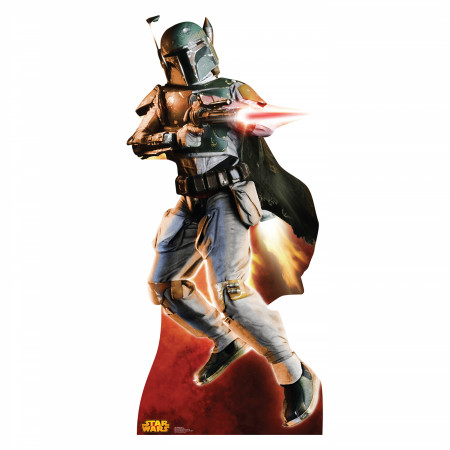 Star Wars Boba Fett Cardboard Stand Up