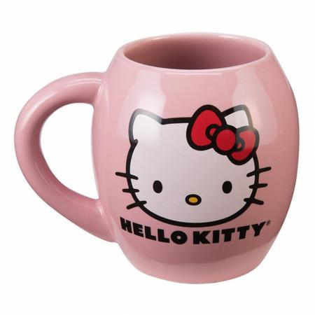 Hello Kitty 18 Ounce Pink Ceramic Mug