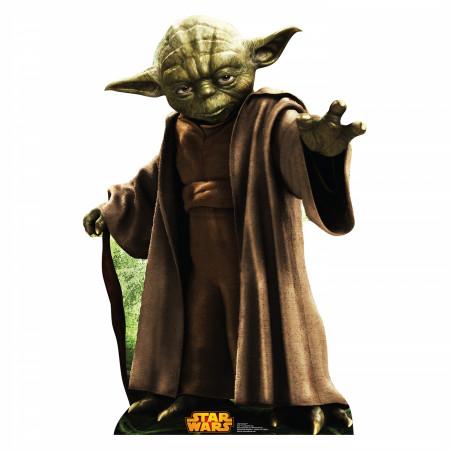 Star Wars Yoda Cardboard Stand Up