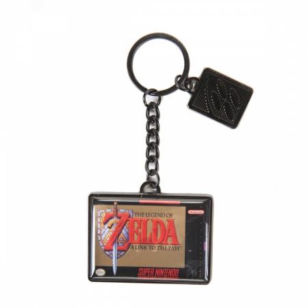 Nintendo Legend of Zelda Video Game Cartridge Keychain