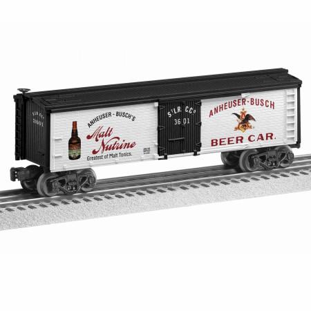 Anheuser-Busch Malt Tonic Reefer Train Set Train Car