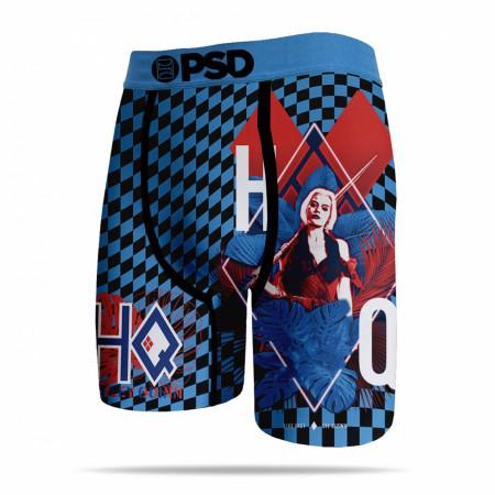 Harley Quinn Checkers Men's PSD Boxer Briefs