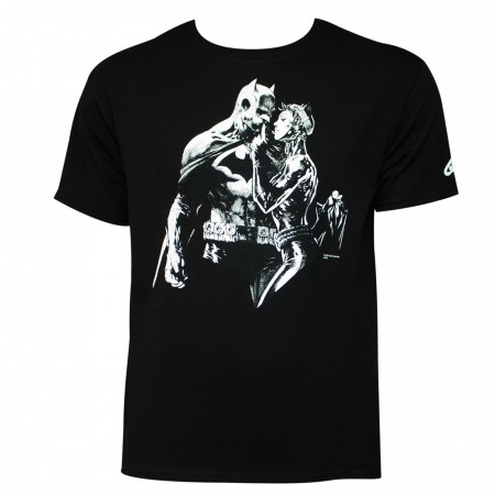 Batman: Hushhhhh T-Shirt by Jim Lee