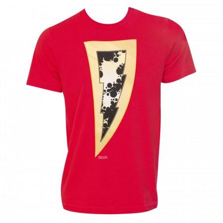 Shazam Lightning T-Shirt