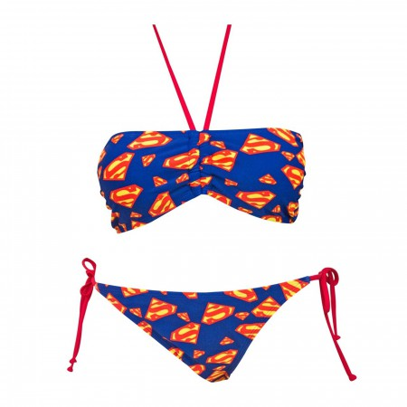 SUPERMAN ALL OVER PRINT BIKINI
