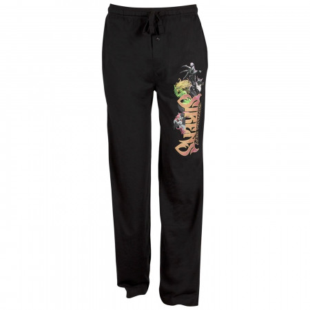 Gotham City Sirens Black Unisex Sleep Pants
