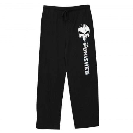 The Punisher Black Unisex Sleep Pants
