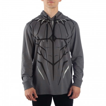 Black Panther Costume Light Weight Hoodie