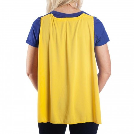 Batgirl Caped Costume Women's T-Shirt