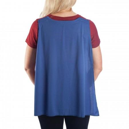Wonder Woman Caped Costume Women's T-Shirt