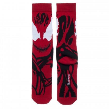 Carnage Character Costume Crew Socks