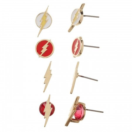Flash Icon Earrings Pack