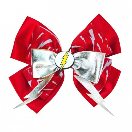 Flash Icon Red Cheer Bow