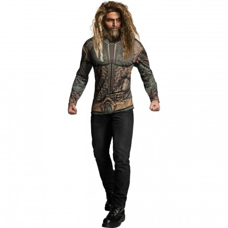 Aquaman Adult Costume T-Shirt