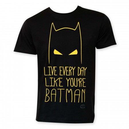 Live Like Batman Men's T-Shirt