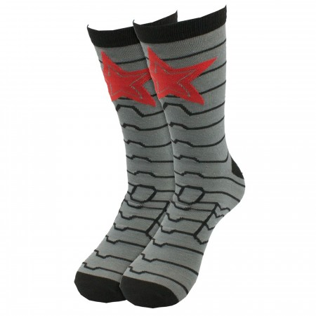 Winter Soldier Crew Socks