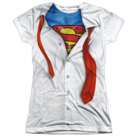 Superman Costume Reveal Women's T-Shirt