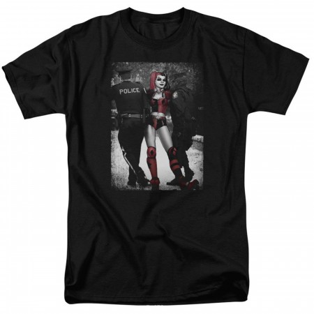 Harley Quinn and the Police Men's T-Shirt