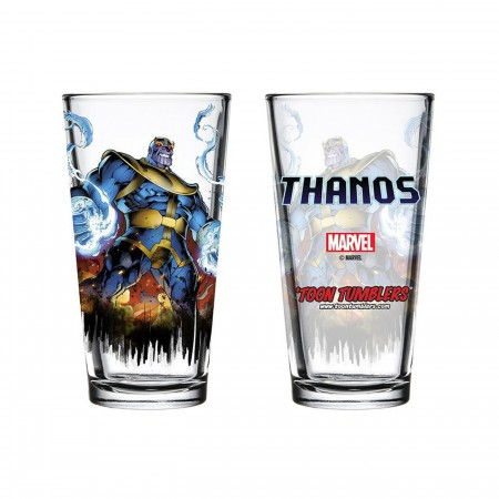 Thanos The Mad Titan Pint Glass
