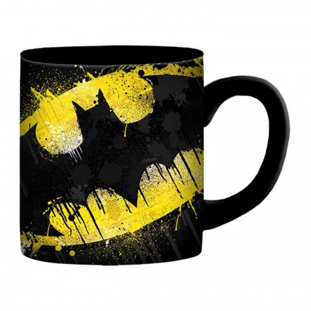 Batman Splatter Paint 14 Ounce Mug