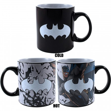 Batman Heat Reveal 20 Ounce Mug